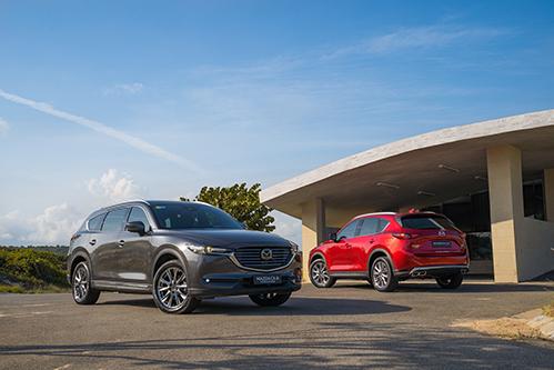 Bộ đôi SUV Mazda CX-8 và Mazda CX-5 có ưu đãi khủng trong tháng 6.