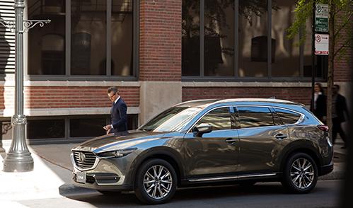 SUV Mazda CX-8 được hưởng ưu đãi trong tháng 6.
