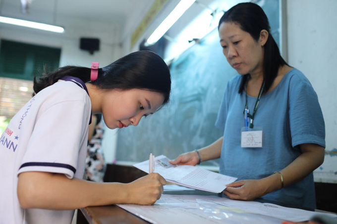 Thí sinh đăng ký thi tốt nghiệp THPT từ 15/6/2020
