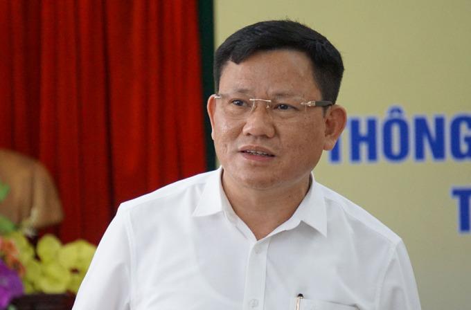 Tân Phó chủ tịch UBND tỉnh Thanh Hoá Nguyễn Văn Thi. Ảnh: Lê Hoàng.
