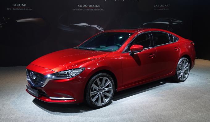 Mazda6 2020 bản nâng cấp ra mắt tại Việt Nam.