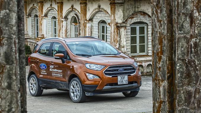 Thiết kế Ford EcoSport tại Việt Nam.