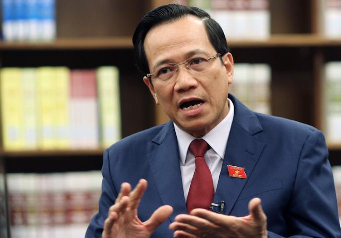 Bộ trưởng Lao động Thương binh Xã hội Đào Ngọc Dung. Ảnh: Võ Hải