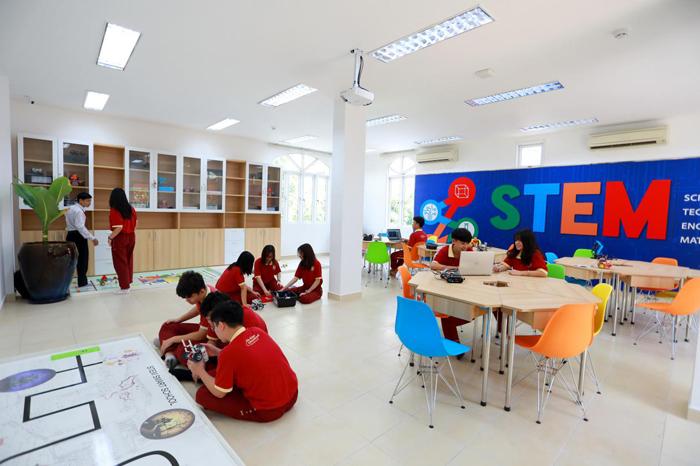 Cơ sở vật chất theo tiêu chuẩn quốc tế tại Asian School