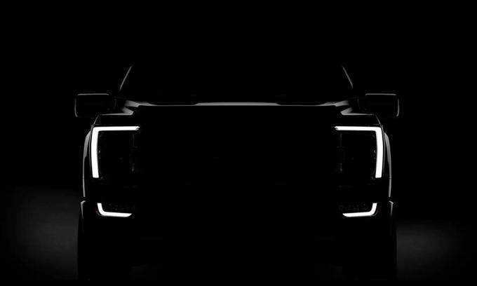 Ford tung ảnh F-150 thế hệ mới trên trang chủ của hãng. Ảnh: Ford