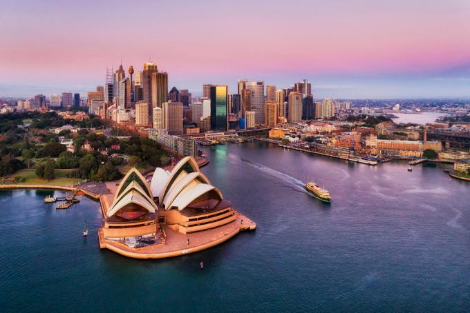 Nhà hát Opera Sydney, biểu tượng của Australia. Ảnh: Shutterstock