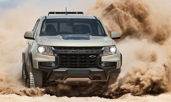Colorado phiên bản ZR2 chuyên off-road, đấu Ford Ranger Raptor. Ảnh: Chevrolet