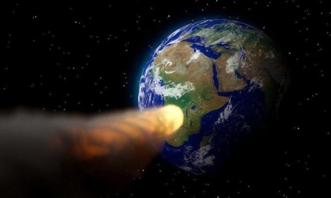 Thiên thạch hơn 300 m đang bay về phía Trái Đất
