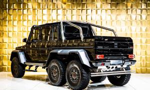 Mercedes G63 AMG 6x6 - 'quái thú' triệu đô