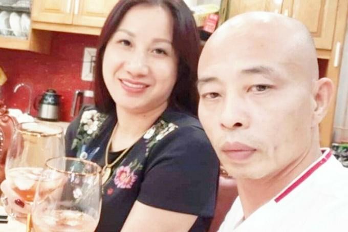 Vợ chồng Đường Dương trước khi bị bắt. Ảnh: Facebook nhân vật.