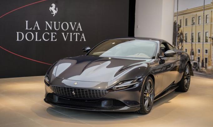 Siêu xe Roma đã có mặt tại thị trường Đông Nam Á. Ảnh: Ferrari