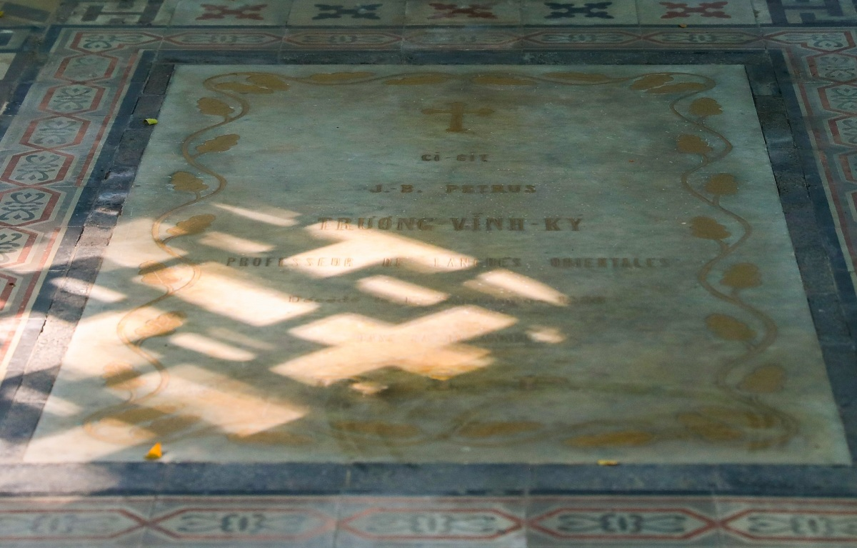 Lăng mộ trăm tuổi của nhà bác học Trương Vĩnh Ký - 8
