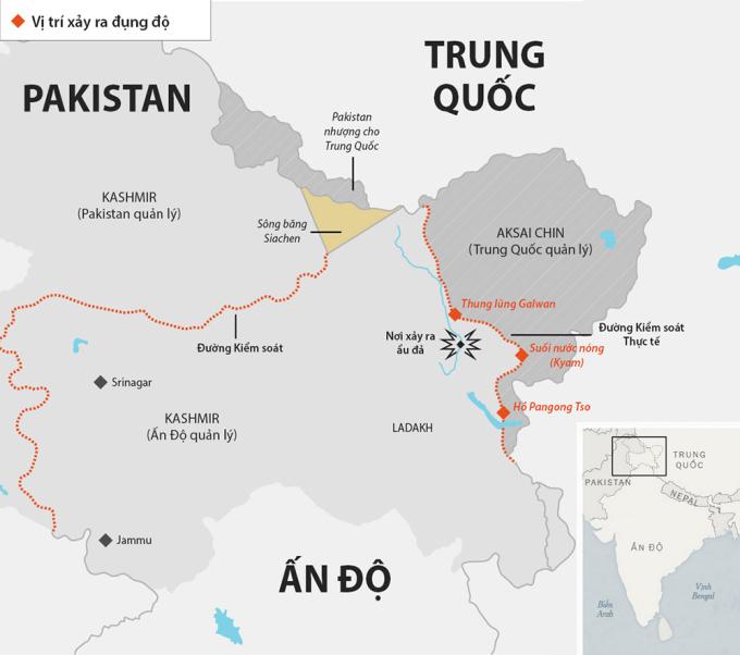 Cú đấm châm ngòi ẩu đả chết người ở biên giới Ấn - Trung