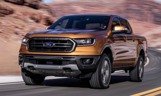 Ford Ranger là xe nội địa hóa nhiều nhất ở Mỹ. Ảnh: Ford