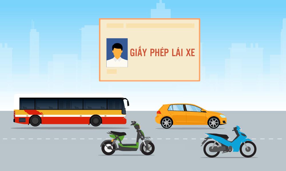 Các hạng bằng lái xe mới trong Dự thảo Luật Giao thông đường bộ