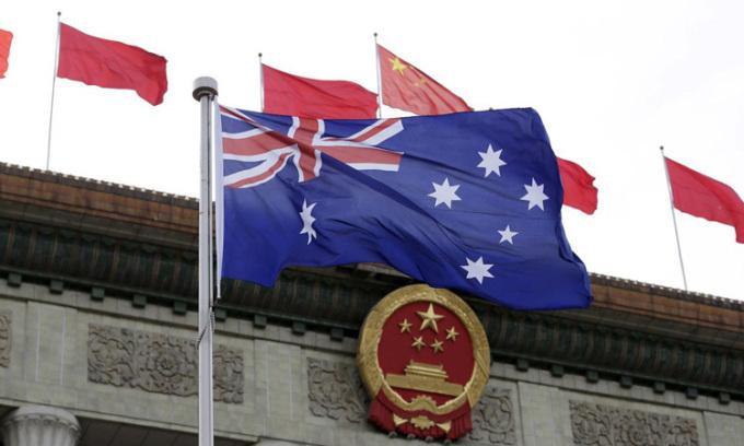 Niềm tin của người Australia với Trung Quốc giảm mạnh