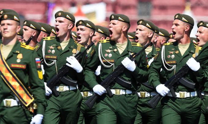 Hai thông điệp Nga phát đi từ lễ Duyệt binh Chiến thắng