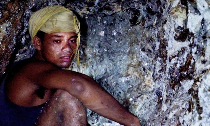 Người bạn khai thác cùng hầm mỏ với Singh. Ảnh: Aljazeera.