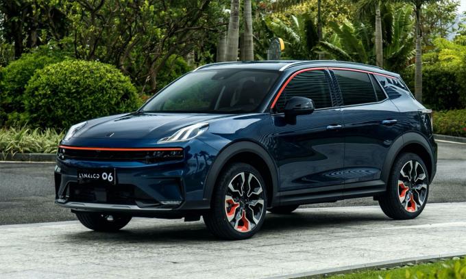 06 - chiếc SUV mới cá tính dành cho thị trường Trung Quốc. Ảnh: Lynk & Co