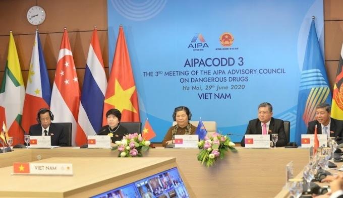 Nghị viện 10 nước ASEAN bàn chiến lược phòng chống ma tuý