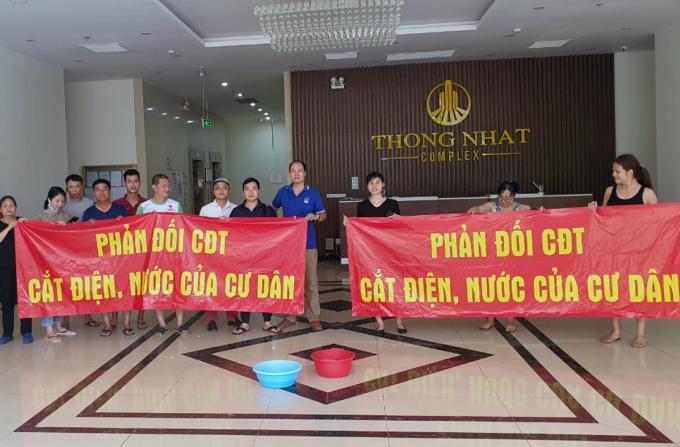 Hà Nội yêu cầu chủ đầu tư chung cư không cắt điện, nước