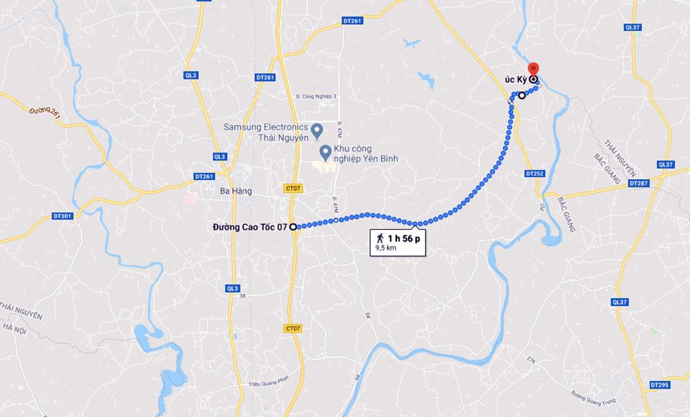 Đoạn đường vành đai gần nghìn tỷ đồng ở vùng thủ đô