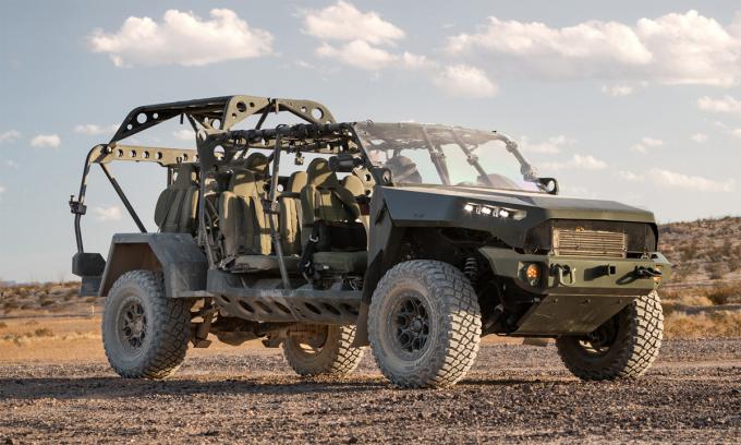Mẫu ISV cho quân đội Mỹ. Ảnh: GM