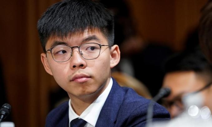 Joshua Wong rời đảng Demosisto