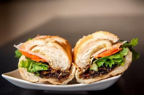 Món bánh mì của nhà hàng Một Hai Ba ở Dallas, Texas. Ảnh: Facebook/Một Hai Ba