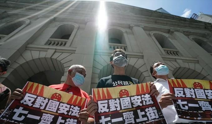 Dân Hong Kong phản ứng trái chiều với luật an ninh