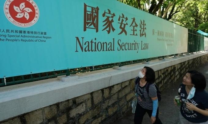 Tác động của luật an ninh Hong Kong