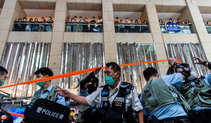 Hong Kong công bố luật an ninh