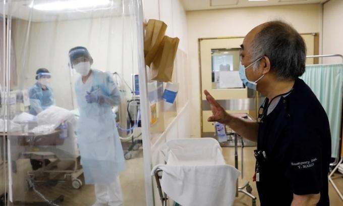 Bệnh viện Nhật chật vật hoạt động hậu Covid-19