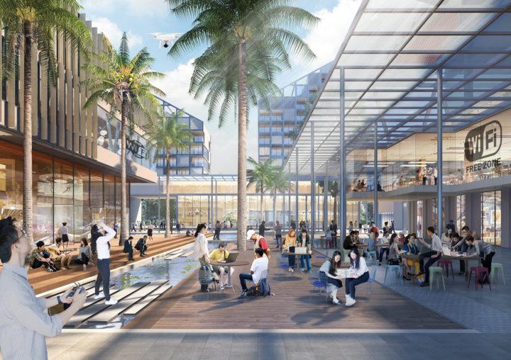 Thành phố phía Đông tương lai như thế nào?
