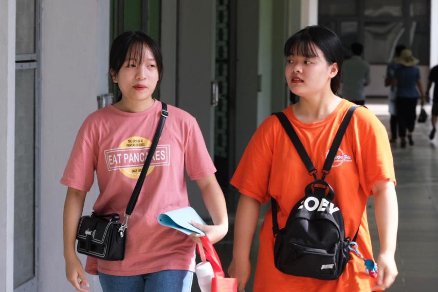 Nhiều thí sinh đăng ký 20 nguyện vọng vào đại học