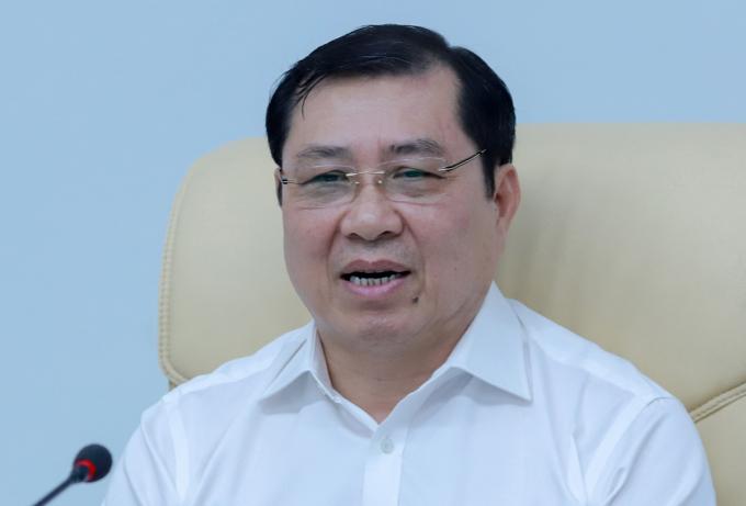 Ông Huỳnh Đức Thơ, Chủ tịch UBND TP Đà Nẵng. Ảnh: Nguyễn Đông