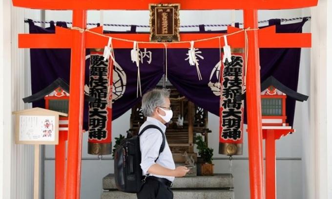 Ca nCoV mới ở Tokyo tăng cao nhất trong hai tháng