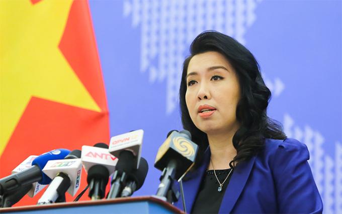 Việt Nam phản đối Trung Quốc tập trận trái phép ở Biển Đông