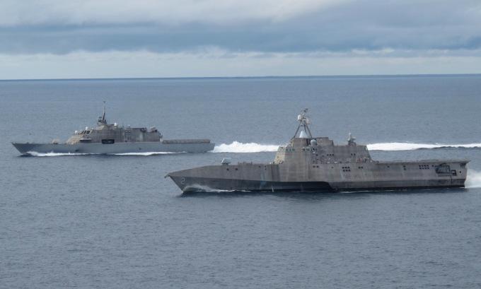 Mỹ muốn sớm loại biên loạt tàu chiến đấu ven biển