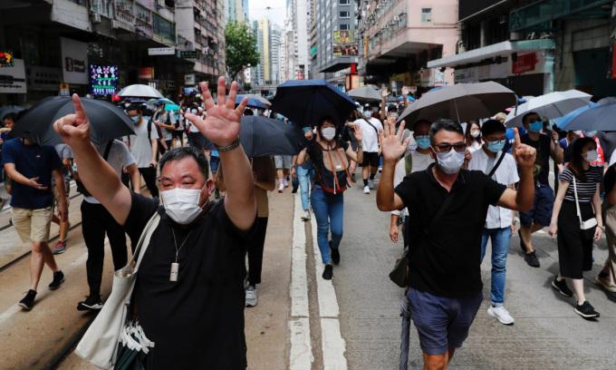 Người Hong Kong đề phòng trước luật an ninh