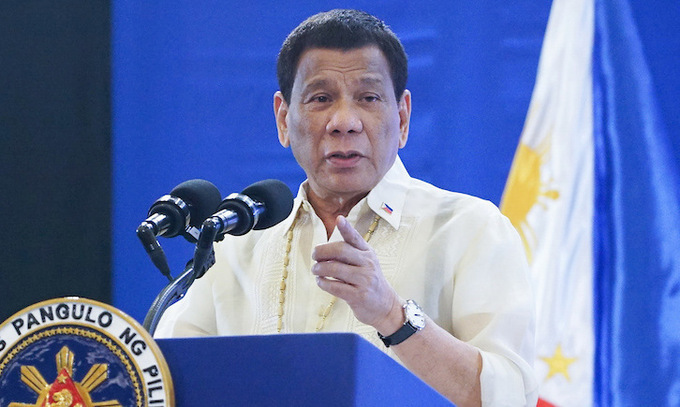 Tổng thống Philippines ký luật chống khủng bố