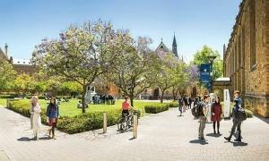 Đại học Adelaide, Australia cấp học bổng đến 50%