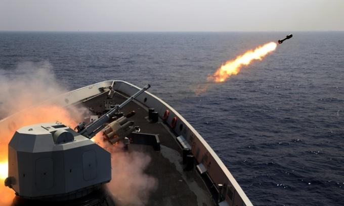Lầu Năm Góc chỉ trích Trung Quốc tập trận ở Hoàng Sa