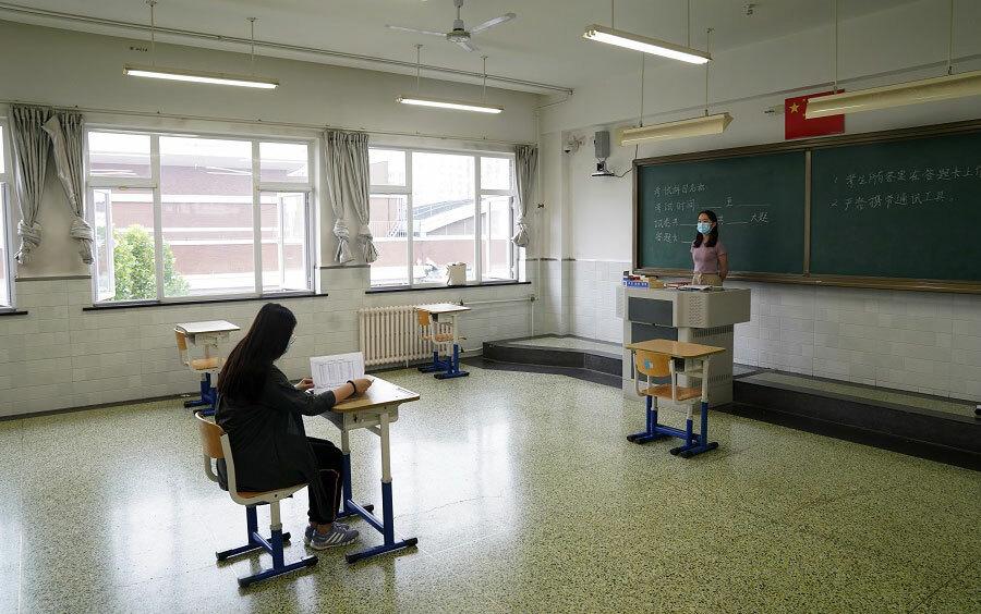 Bắc Kinh ráo riết chuẩn bị cho kỳ thi đại học