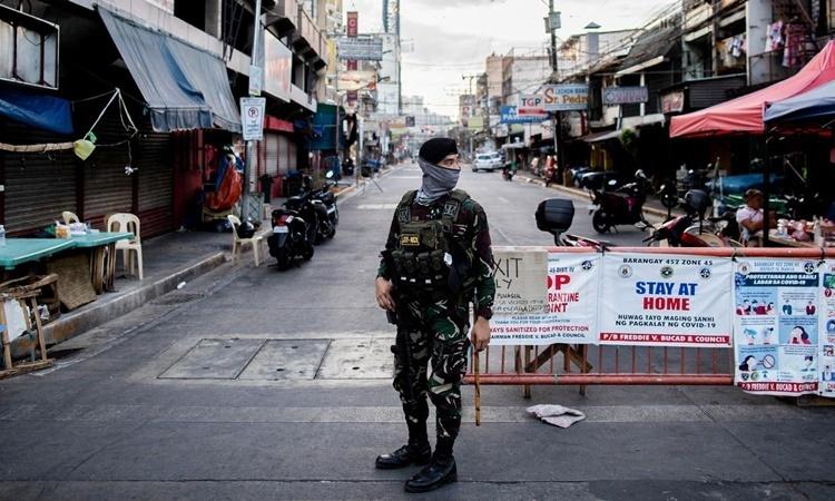 Ca nhiễm nCoV ở Philippines tăng kỷ lục - VnExpress