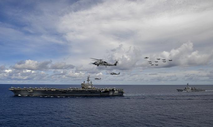 Tướng Mỹ tuyên bố 'không sợ' tên lửa diệt hạm Trung Quốc