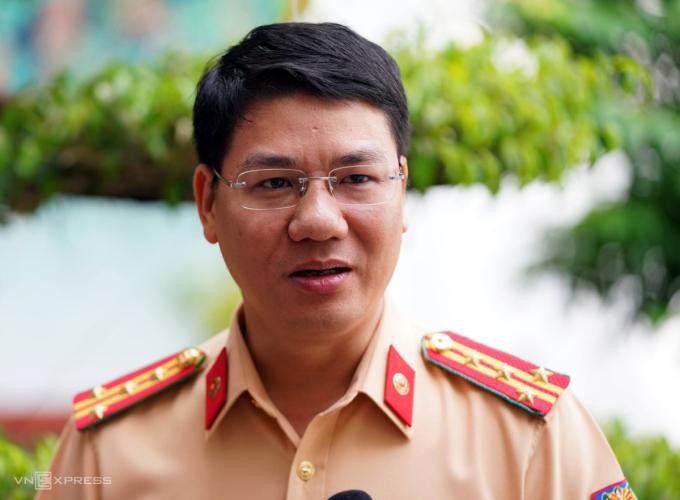 Đại tá Đỗ Thanh Bình, Cục phó CSGT (Bộ Công an). Ảnh: Bá Đô