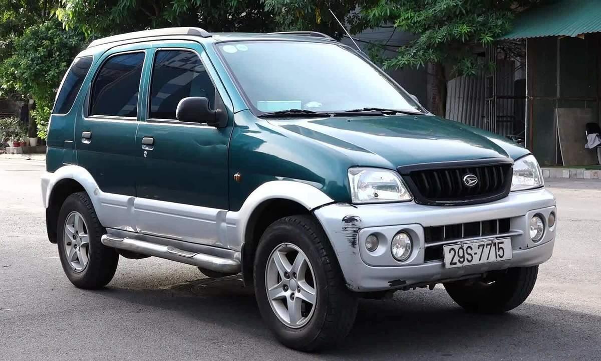 Daihatsu Terios - xe cũ bền bỉ giá 100 triệu đồng - VnExpress