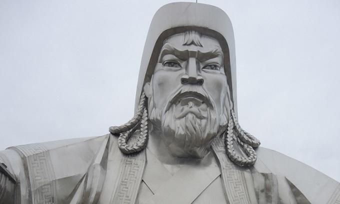 Tượng Thành Cát Tư Hãn ở Mông Cổ. Ảnh: Sci News.