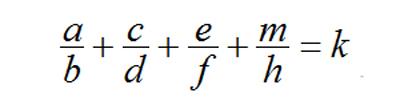 Bài toán điền phân số lớp 5